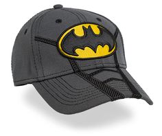 fd91e52a8d2 Batman Stretch Fitted Hat. Fitted Baseball CapsBatman LogoBatman The Dark  ...
