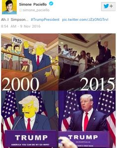 Readers Deluxe- How The Simpsons Predicted Trump's Victory In 2000