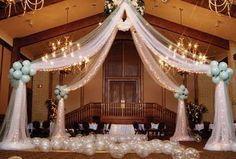 decoracion con telas para boda - Buscar con Google