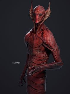 Guardians of the Galaxy Vol 2. Alt. Krugarr Design, Ian Joyner on ArtStation at https://www.artstation.com/artwork/vrmoD