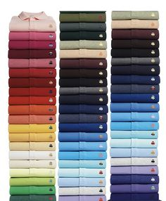 44 Flavors: The Brooks Brothers Polo-Shirt Boxed Set - Ivy Style Polo Shirt Outfits, Polo T Shirts, Polo Shirt Style, Polo Shirt Colors, Ivy Style, Men's Style, Equestrian Style, Equestrian Outfits, Dandy