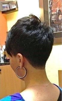1000 images about B side nape nuca short haircut on