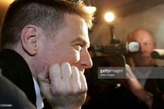 Singer Bryan Adams speaks to the media prior to the LEAD Awards 2006 at the Deichtorhallen on March 15, 2006 in Hamburg, Germany. Adams, who takes a photo story of Mickey Rourke will receive the award for best portraiture 2005