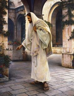 Love this Christ painting for somewhere in the house!