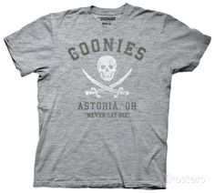 The Goonies - Astoria Never Say Die T-Shirt
