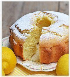 La ricetta del ciambellone 12 cucchiai al limone