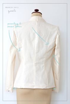 Goal 1 - Sew a Tailored Jacket Update - Pattern Runway