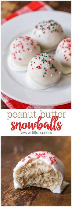 Peanut Butter Snowba