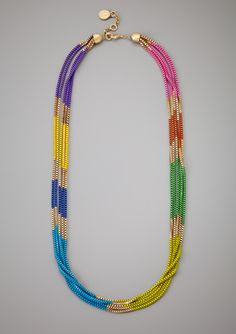 JESSICA SIMPSON Colorblock Necklace