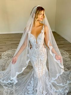 Open Back Wedding Dress, Couture Wedding Gowns, Wedding Dress Train, Gorgeous Wedding Dress, Wedding Lingerie, Dream Wedding Dresses, Beautiful Gowns, Bridal Dresses, Allure Bridals