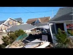 Hurricane Sandy Brick NJ | Hurricane Sandy interview, Mantoloking Rd, Brick, NJ
