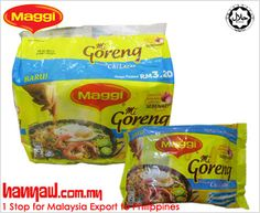 We export Maggi Mi Goreng Perencah Cili Lazat to philippines. Visit- http://www.hanyaw.com.my/Products/Maggi_Mi_Goreng_Perencah_Cili_Lazat.html