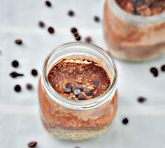 Almond Butter Chocolate Overnight Oats