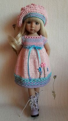 "OOAK наряд для Куклы 13 ""Dianna EFFNER LITTLE DARLING ручной работы in Куклы и мягкие игрушки, Куклы, Одежда и аксессуары | eBay"