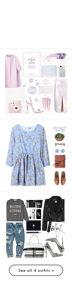 """"""""""" by aiaiaistail ❤ liked on Polyvore featuring Jil Sander, Marc by Marc Jacobs, Zero Gravity, Fujifilm, Giuseppe Zanotti, Gap, TOMS, Chanel, Jimmy Choo and Maison Kitsuné"""