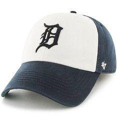 '47 Detroit Tigers White/Navy Franchise Freshman Flex Hat