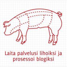 Laita palvelusi lihoiksi ja prosessoi blogiksi