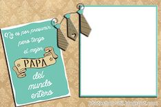Daddy Day, Father, Signs, Photoshop, Frame, Videos, Stickers, Love Photos, English Worksheets For Kids