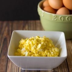 High Fat Low Carb Egg Salad for Egg Fast