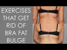 Exercises that Get Rid of Back Fat and Bra Overhang - Christina Carlyle - YouTube