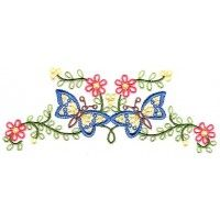 Butterfly Bouquet - Bonus 2003 IEC Machine Embroidery Design Download | Martha Pullen
