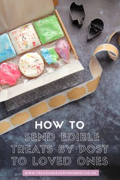 Jan 10, 2021 - GIFT GIVING: How to Send Edible Treats by Post to Loved Ones