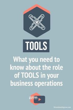Tools are central to running a business online but there are 5 things I want you to keep in mind when it comes to tools and your business. Plus find more resources and tips to help you with your tools + business operations. Business Planning, Business Tips, Online Business, Creative Business, Sales And Marketing, Email Marketing, Digital Marketing, Business Operations, Thing 1