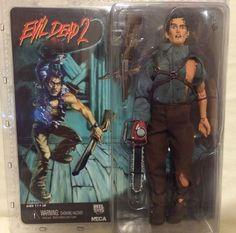"Evil Dead 2 Hero Ash 8"" Retro Fig NIB Bruce Campbell Army of Darkness Neca #NECA #ActionFigure"