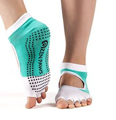 Zen Paws premium non slip toeless grip socks for Yoga, Pilates, Fitness, Barre or dance - turquoise color. -- Find out more about the great product at the image link. (This is an affiliate link) Barre Socks, Yoga Socks, Pilates Fitness, Pilates Workout, Pilates Barre, Toeless Socks, Grip Socks, Yoga Pictures, Yoga Accessories