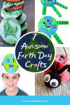 7 Awesome Earth Day Crafts for children to celebrate Mother Earth Diy Projects For Kids, Crafts For Teens, Diy For Kids, Craft Projects, Kids Crafts, Project Ideas, Diy And Crafts Sewing, Crafts To Sell, Earth Day Crafts