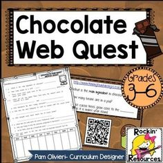 Chocolate Web Quest- Fun!!!!!