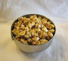 Easy Caramel Corn just like in the Holiday Tins!