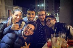 After Work with my Colleagues ‍‍ #afterwork #colleagues #Leo #Marta #Mudy #friend #american #location #PiazzaXXVAprile #milan #city #beers #i_lovephoto #finishwork #socialnetwork #pinterest #swarm #tumblr #twitter #instagram #likes #kiss #hashtag #good #followme #mypageispublic #follow4follow