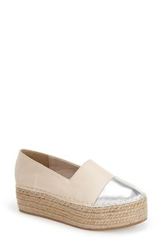 N.Y.L.A. 'Azaliah' Platform Espadrille (Women) available at #Nordstrom