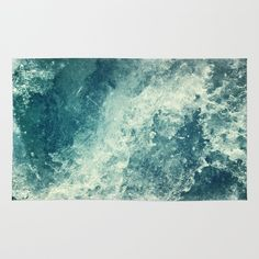 Buy Area & Throw Rugs with design featuring Water I by Dr. Lukas Brezak and adorn your home with both style and comfort. Available in three sizes (2' x 3', 3' x 5', 4' x 6').
