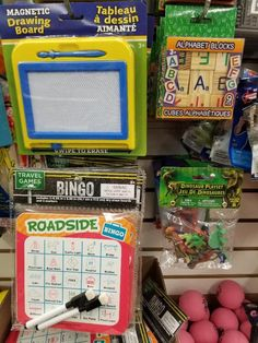 Cheap & fun road trip games for kids from Dollar Tree! Find cool travel games for kids & travel gadgets for family vacation. Disney toys & Busy Bags too Kids Travel Activities, Road Trip Activities, Road Trip Games, Toddler Car Ride Activities, Toddler Car Games, Road Trip Food, Toddler Play, Road Trip With Kids, Family Road Trips