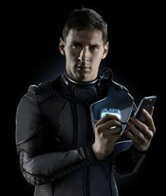 Space-suited Lionel Messi to captain Galaxy 11 in match against aliens Juventus Stadium, Survival Videos, Stamford Bridge, World Cup Final, Lionel Messi, Fifa World Cup, Wearing Black, Leo, Football