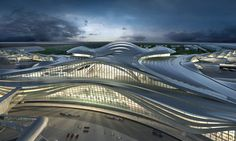 kohn pedersen fox masterplans abu dhabi international airport midfield complex