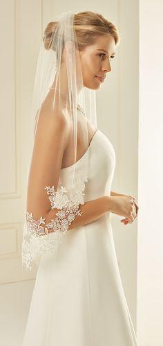 18ed7c084a7bd Beautiful veil S238 from Bianco Evento  biancoevento  veil  weddingdress   weddingideas  bridetobe
