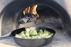 Fire Roasted Brussels (Via Pizza Quest)