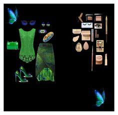 """""""Blue/Green Boho"""" by bestnana7777 on Polyvore featuring Issey Miyake, Rocio, Eve Lom, Bobbi Brown Cosmetics, MDMflow, NARS Cosmetics, Huda Beauty, Tony Moly, Givenchy and Urban Decay"""