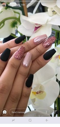 45 latest and hottest matte nail art designs ideas 2019 12 – JANDAJOSS.ME - 45 latest and hottest matte nail art designs ideas 2019 12 – JANDAJOSS.ME 45 latest and hottest matte nail art designs ideas 2019 12 – JANDAJOSS. Ombre Nail Designs, Simple Nail Designs, Acrylic Nail Designs, Nail Art Designs, Nails Design, Stylish Nails, Trendy Nails, Cute Nails, Matte Nail Art