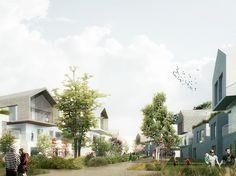 Philippon - Kalt Architectes » Écoquartier de Bénouville / un paysage habité