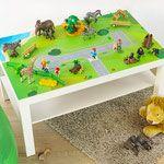 IKEA Spieltische statt Spielteppiche selber bauen - Limmaland - Kleben. Spielen. Leben.