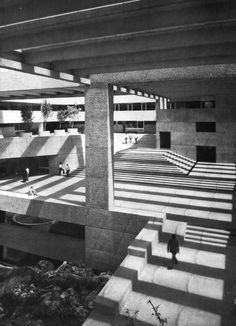 El Colegio de México, Mexico City, Mexico, 1975(Abraham Zabludovsky and Teodoro González de León)