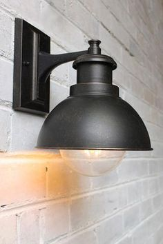 Expressway Wall Light in brown