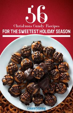 These easy Christmas candy recipes, from Christmas crack to chocolate fudge, are guaranteed to fill you with cheer this holiday season. Find one of the best Christmas candy recipes here that'll wow all of your guests. Easy Christmas Candy Recipes, Holiday Candy, Christmas Desserts, Holiday Treats, Holiday Recipes, Christmas Crack, Homemade Christmas Candy, Christmas Candy Crafts, Christmas Chocolates