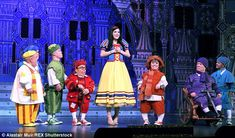 ActorWarwick Davis and Lizzie Jay-Hughes as Snow White 'Snow White and the…