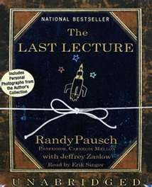 The Last Lecture by Randy Pausch. Let them paint the room. Just let them.