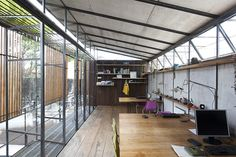oficios asociados construct blacksmith workshop + architecture studio in argentina